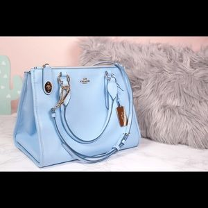 Coach Pantone® Blue Purse Bag Spring 2016 | NWOT